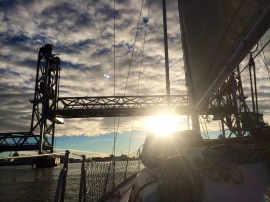 Memorial Bridge Piscataqua sailing