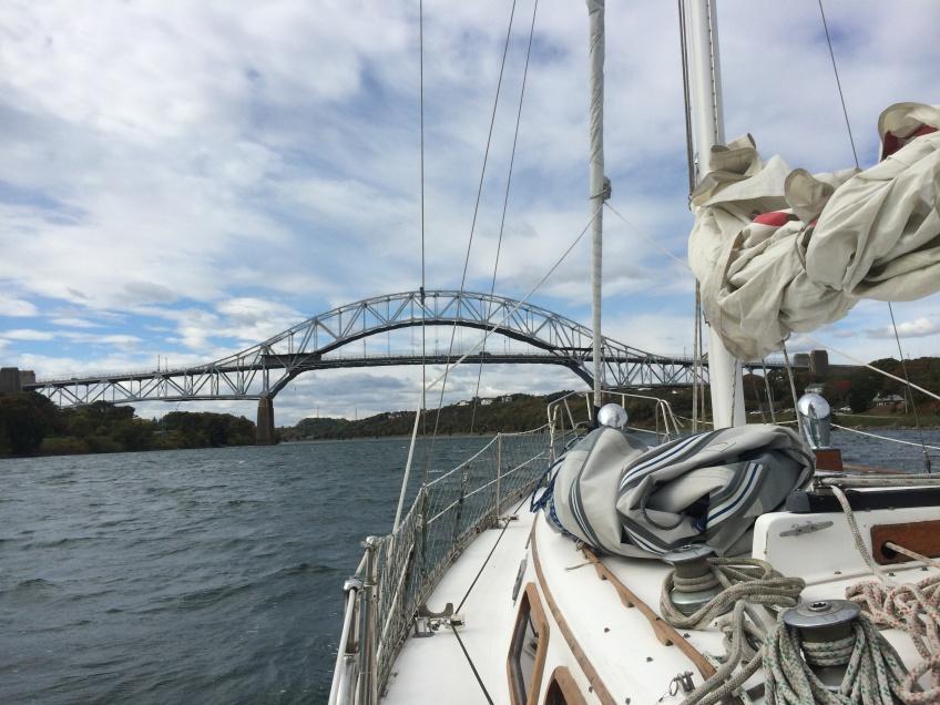 Sagamore Bridge Cape Cod Canal sailing
