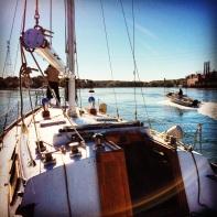 Piscataqua sailing Gulfstar 37
