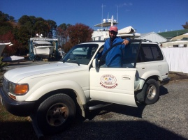 Deltaville Marina courtesy car