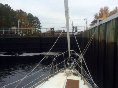Dismal Swamp Canal lock