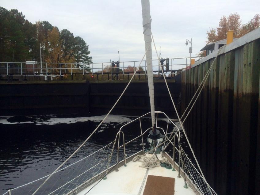 Dismal Swamp Canal lock