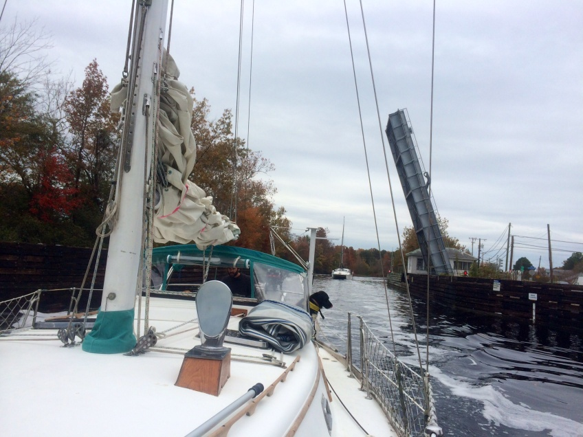 Dismal Swamp Canal bridge
