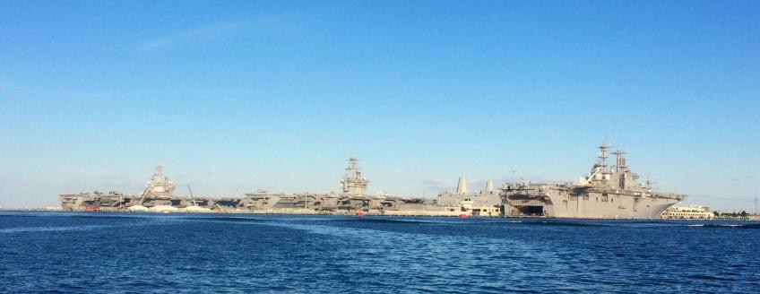 Norfolk Navy ships